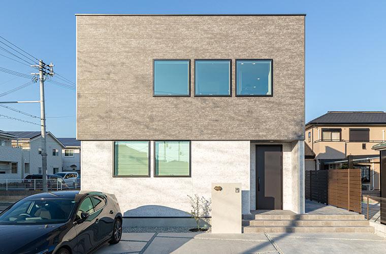 """キューブハウスでスタイリッシュに!建築家デザインの""""友人が集う家""""(I様邸)"""