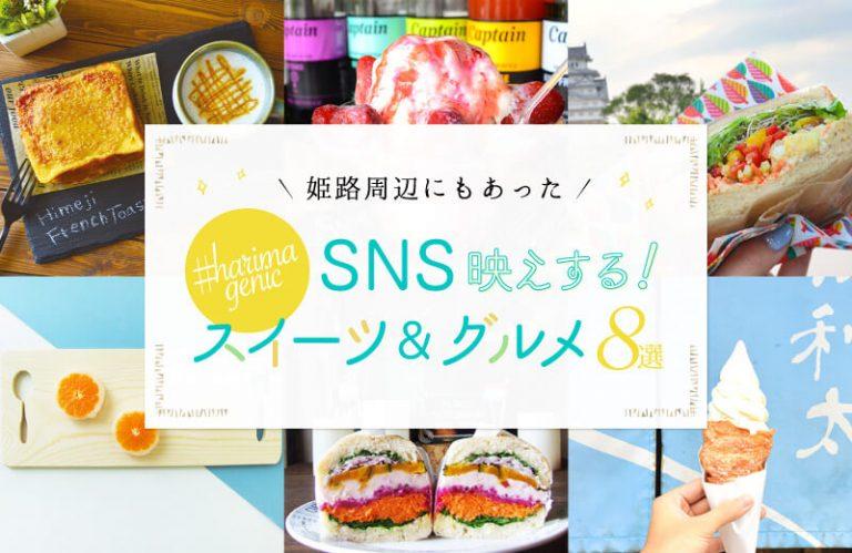 姫路周辺でフォトジェニック発見!SNS映えするスイーツ&グルメ8選!