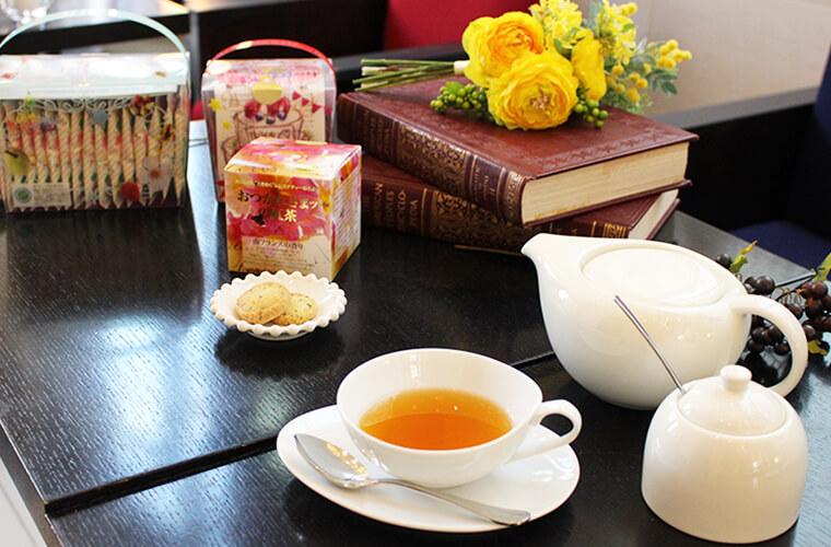 姫路初!期間限定!高級茶葉を使用したムレスナティーが味わえる「アルモニーアッシュ」