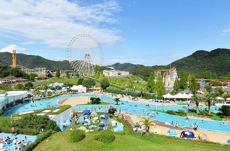 「姫路セントラルパーク」のサファリ・遊園地・プール・アトラクションを大満喫!料金情報も