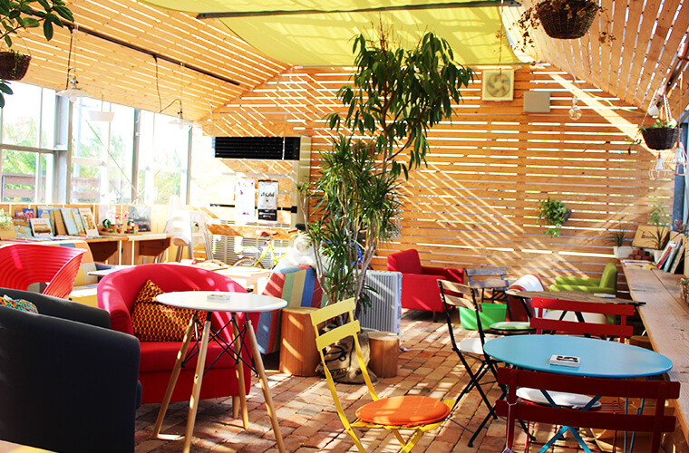 【加西】のどかな自然に囲まれたこだわりいっぱいのおしゃれなお店「cafe dandan」
