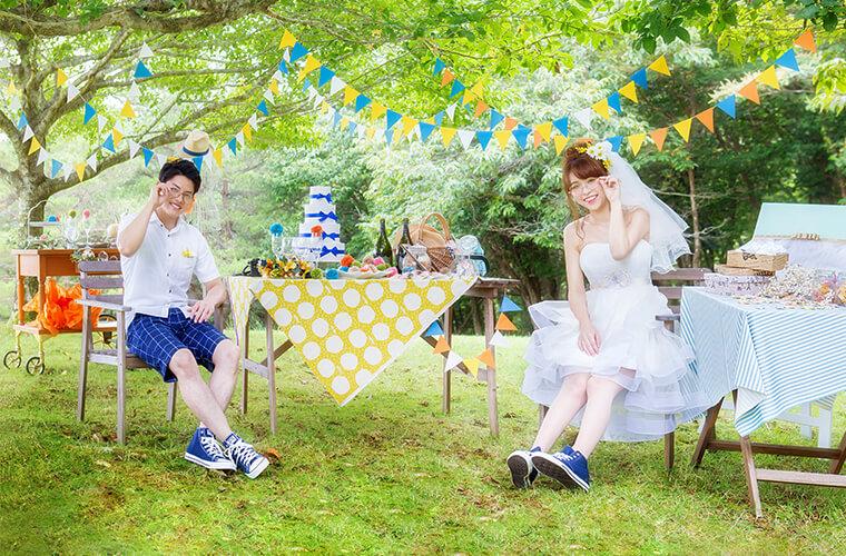 フォトジェニックな結婚式!姫路でおしゃれな前撮りをするなら「絵本の森のウェディング」