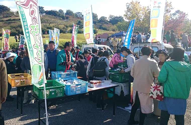 加古川市農林漁業祭 軽トラ市(若い夢フェスティバル同日開催)