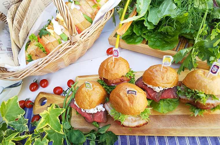 インスタ映えする!お家で簡単に作れるおしゃれなサンドイッチレシピ