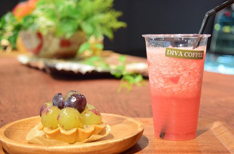 【閉店】オーガニックカフェ「DIVA COFFEE(ディーバ コーヒー)」がフェスタにオープン!