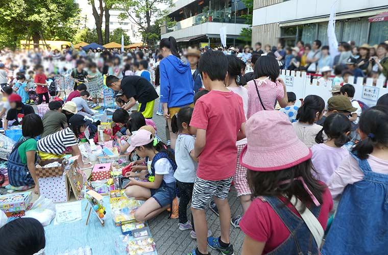 グランフェスタで子どもたちだけでおこなう、キッズフリーマーケットが初開催!