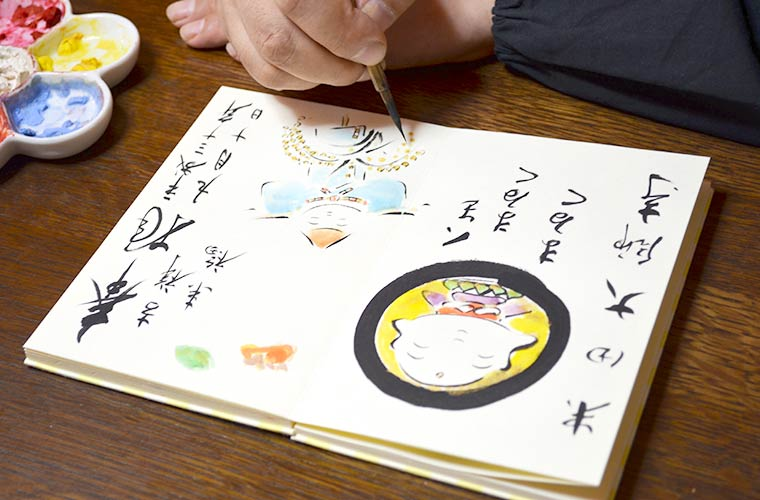 【お寺巡りの楽しみ方~アートご朱印編~】かわいいイラストのご朱印をもらえるお寺が兵庫県にも!?