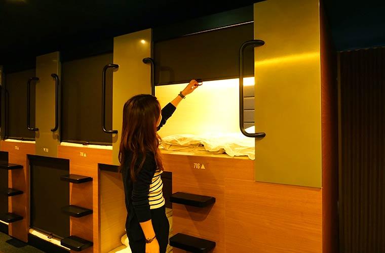 【閉店】 姫路駅前の格安カプセルホテルで話題の「CABIN INN(キャビンイン)」は安い!キレイ!女性専用 フロア完備♪
