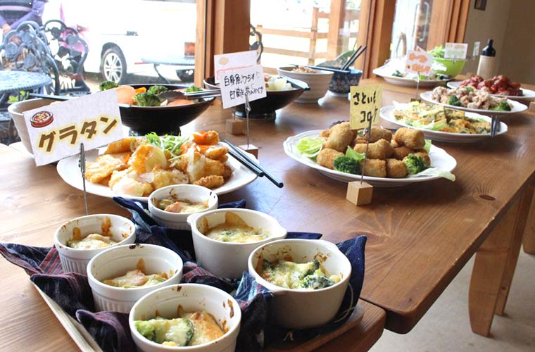 【姫路】地産地消の農園レストラン「はなの家」水曜限定バイキングはなんと1,000円!