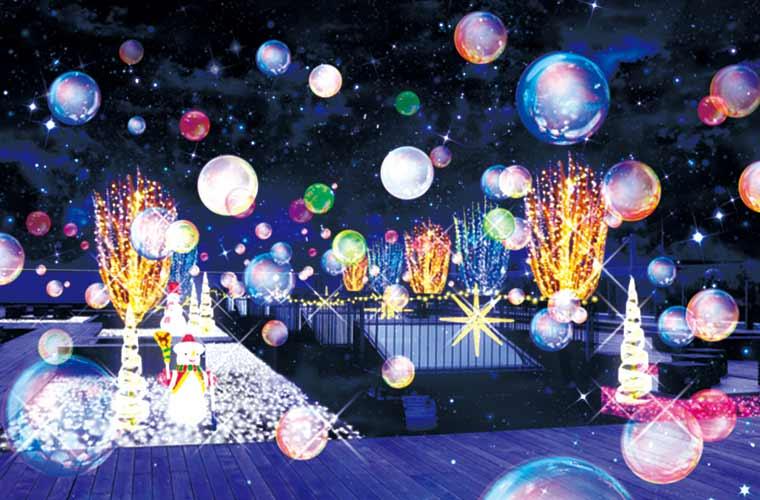 イルミネーションがパワーアップ!「ピオレ姫路」で特別なクリスマスの夜を楽しんで