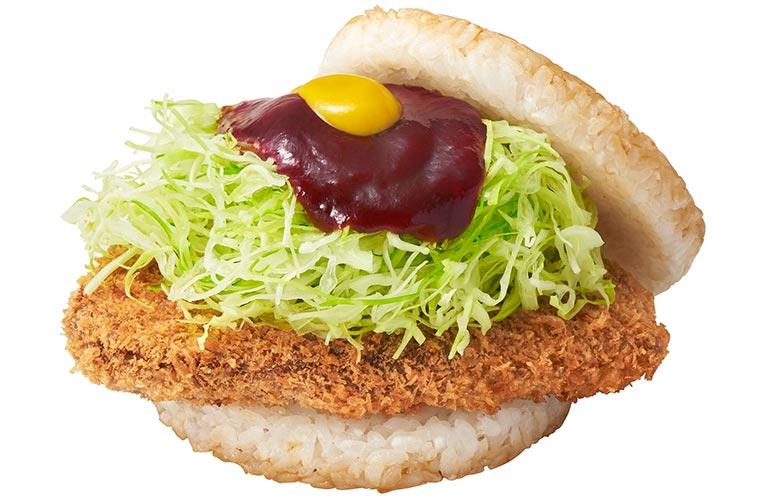 加古川名物「かつめし」のライスバーガーが登場!関西のモスバーガーで12/27から販売開始!