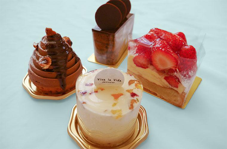【加古川】自分へのご褒美に!「Viva la Vida」の美しすぎるケーキに思わずうっとり
