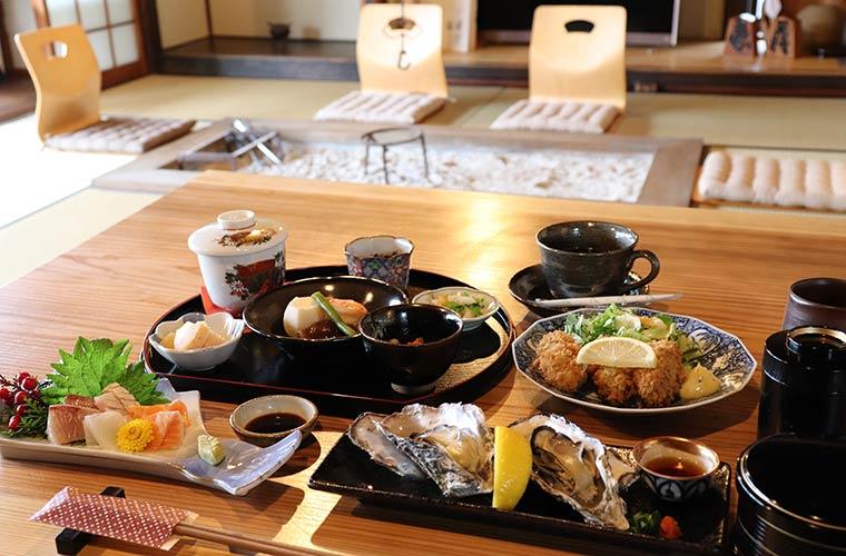【赤穂】坂越の海を眺めながら味わう「二条」のご馳走ランチが人気!