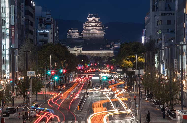 【世界遺産 姫路城へのアクセス】周辺駐車場は?電車・車・バスなどを網羅!