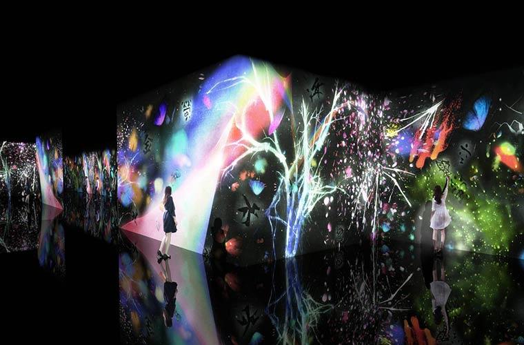 【姫路】話題の最新体感型デジタルアート「チームラボ」が姫路市立美術館にやってくる!