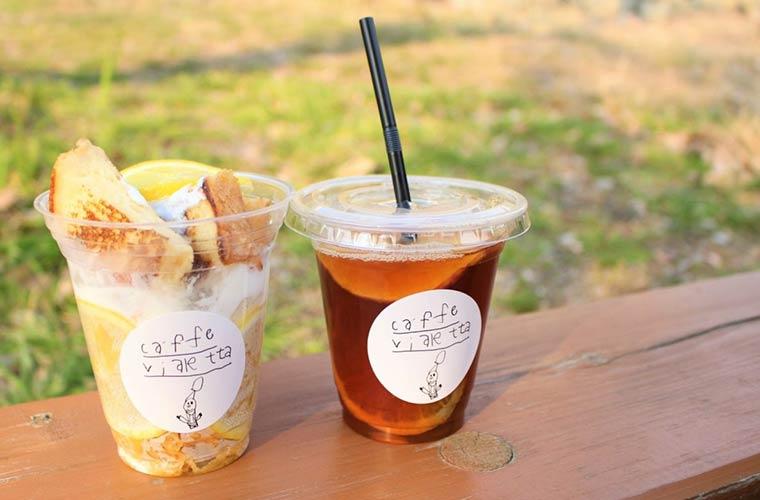 【明石】子連れママに好評の「caffe vialetta」にテイクアウトメニューが新登場!子ども連れOK