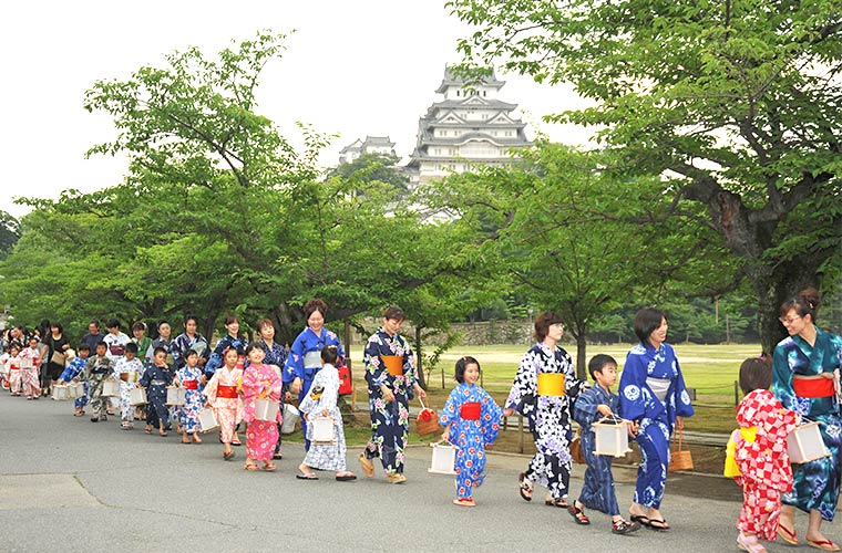 「姫路ゆかたまつり2019」開催!心踊るゆかたで街あそび♪
