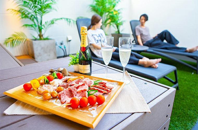 【加古川】屋上を利用したリゾート地風リビングでオシャレ生活♪ BBQやパーティー好き必見!