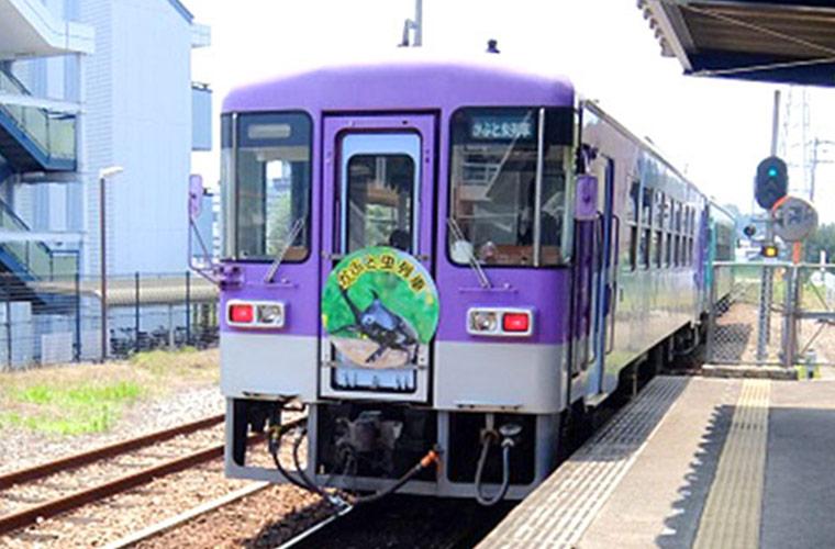 【要予約】加西の北条鉄道「かぶと虫列車」に乗ろう!申込受付中!