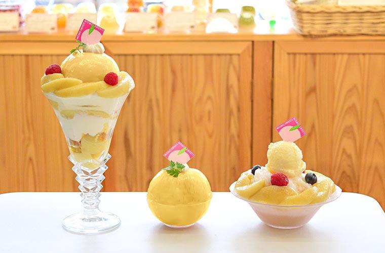 【姫路】果物店マルサン直営「スイーツカフェM」期間限定のかき氷&生搾りジュースが登場♪