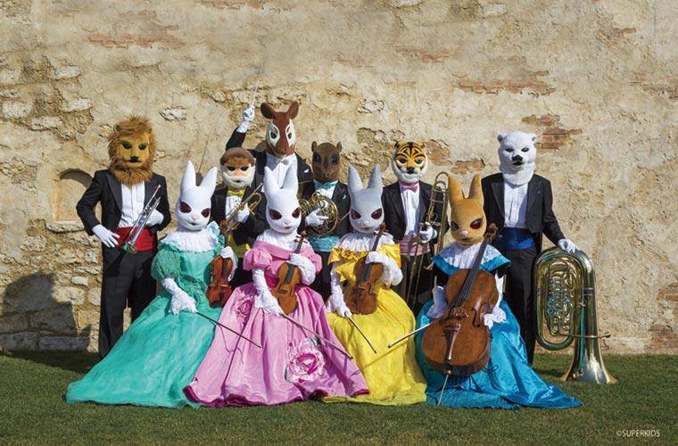 動物たちが贈る親子のためのクラシックコンサート♪「音楽の絵本  ズーラシアンブラス&弦うさぎ」