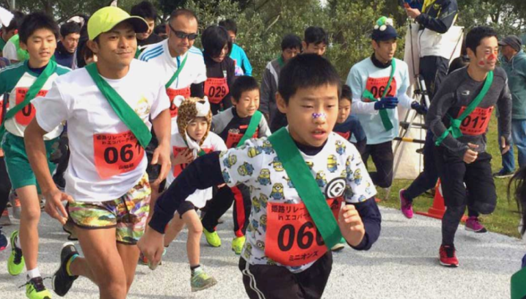 子どもも大人も楽しめるマラソンイベント開催!無料のフェイスペイントもあり