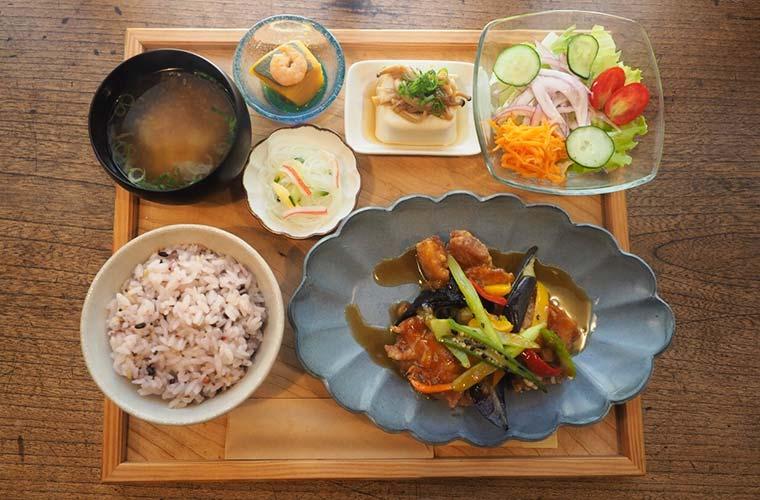 【赤穂】オシャレなカフェ「暖木(のんき)」自家製米と野菜を使ったランチが人気!テイクアウトも