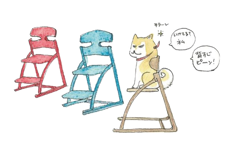 【姫路】「丸忠家具」で、大人になっても愛用できる子ども椅子『アップライト』の体験会を実施