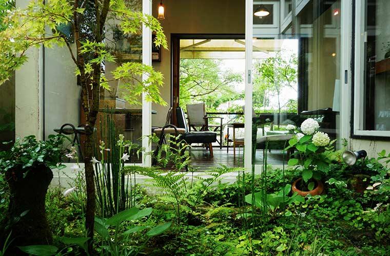 【三木】情緒ある庭が魅力の「Cafe home(カフェ ホーム)」四季折々の風景に癒やされて
