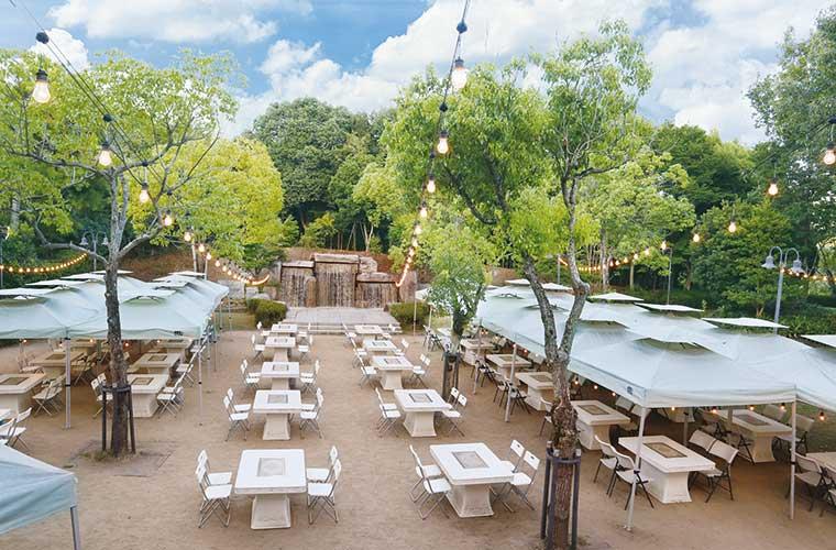 【姫路】「サンシャイン青山」にBBQフィールドがオープン!食材付きプラン&持ち込みもOK