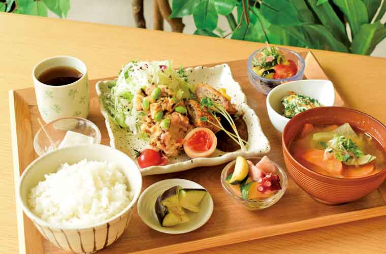 【加古川】総合文化センターに「加古川食堂」がオープン!野菜たっぷりランチに注目