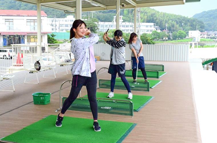 ゴルフ練習場「姫路レークゴルフセンター」がリニューアルオープン!女性専用ゾーン新設♪