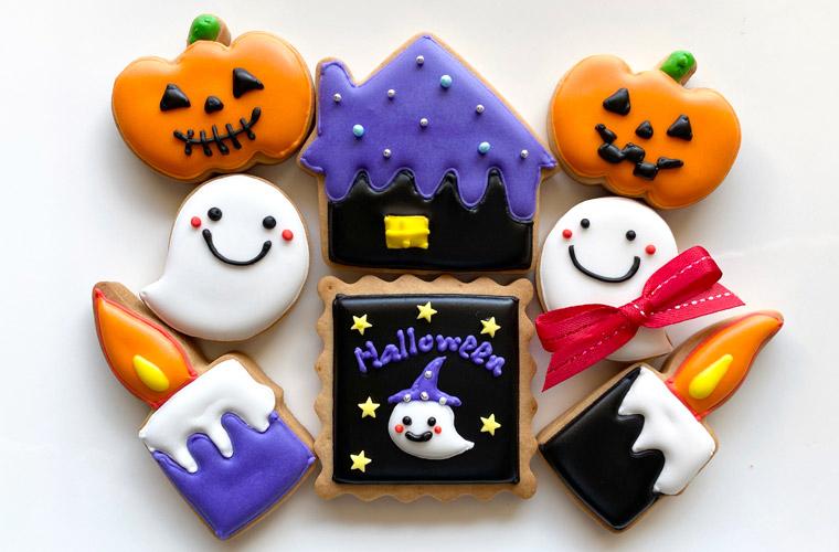 今年のハロウィンはかわいいアイシングクッキー作りに挑戦しよう!