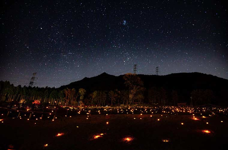 【多可町】星空の下に1000個の蛍行灯が光る「冬のホタル2020」開催!キャンペーンも♪
