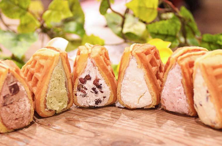 たっぷりのクリームを包んだワッフル専門店「Mon Lis Blanc(モンリブラン)」がピオレ姫路に登場!