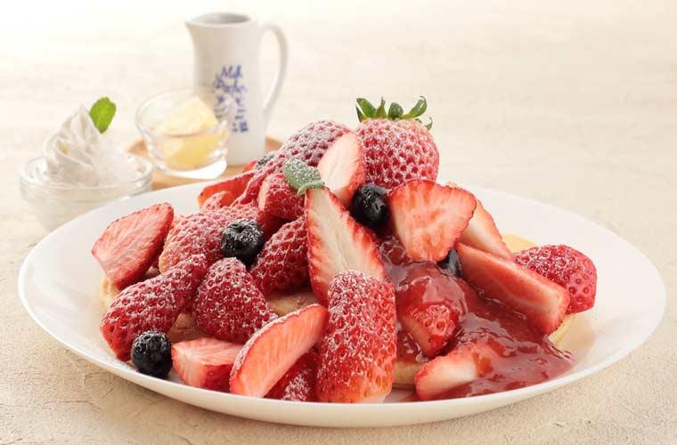 【加西】地産地消レストラン「えぇもん王国」イチゴがたっぷりのパンケーキやパフェが人気♪