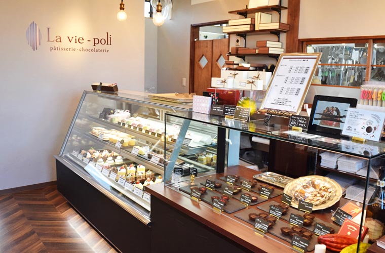 【姫路】ご褒美菓子とショコラのお店「La vie-poli(ラヴィポリ)」で見つける贅沢チョコレート!