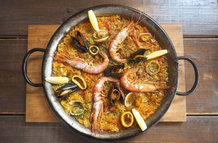 【垂水】海を一望できる欧風レストラン「N'ocean(ノーシャン)」海の幸たっぷりのパエリアが自慢♪