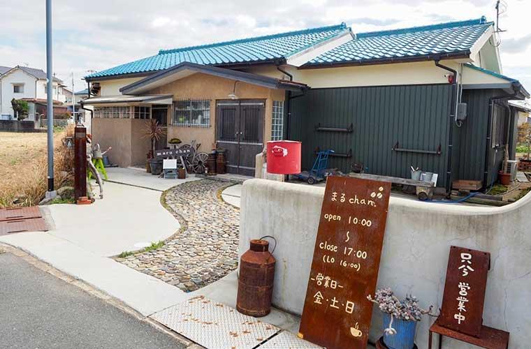 【加古川】古民家カフェ「まるchan。」自家焙煎コーヒーと手作りシフォンケーキが人気♪