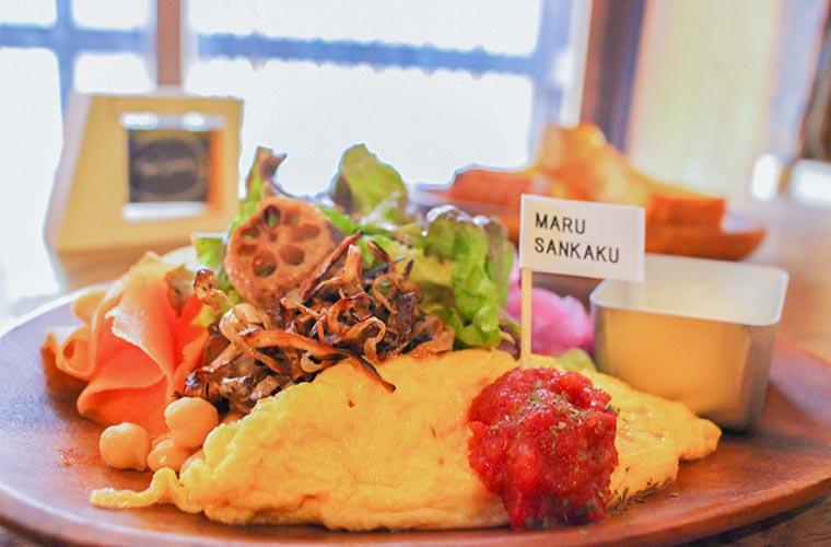 【姫路】週2日営業の古民家カフェ「MARUSANKAKU」モーニングもランチも野菜尽くし♪