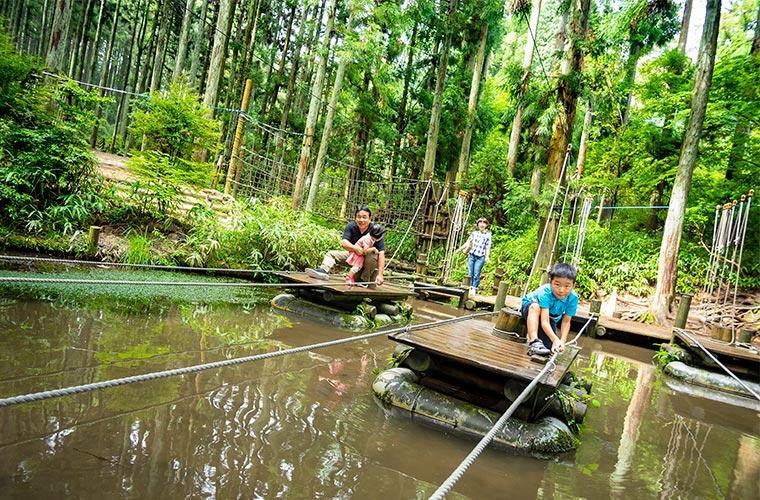 【神戸】六甲山に「GREENIA(グリーニア)」がオープン!アスレチックは160種類以上♪