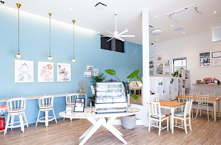 【姫路】おしゃれな「カフェライトブルー」がオープン!テイクアウトできる手作りランチや惣菜がおすすめ