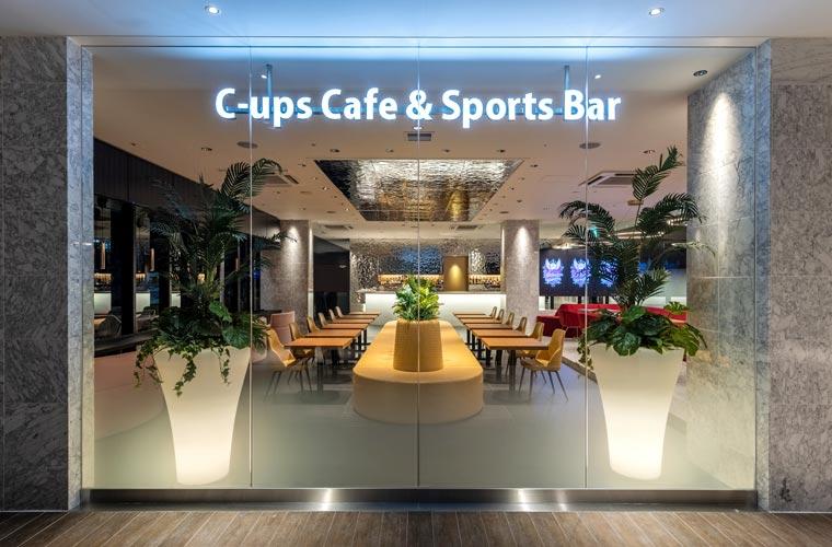 【姫路】テラッソにカフェバー「シーアップス」がオープン!スポーツ観戦しながら食事を満喫♪