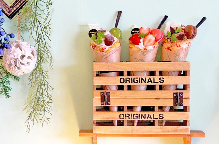 【赤穂】「かみや本舗」のケーキと『アイスクレープ』がインスタ映え!地元素材の銘菓は手土産に