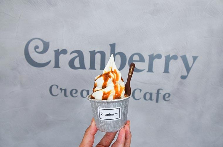 【高砂】カフェ「クランベリー」がオープン!ケーキとソフトクリームを融合した新感覚スイーツが自慢♪