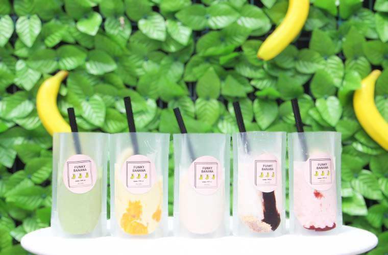 【たつの】濃厚バナナジュース専門店「ファンキーバナナ!!」オープン♪賞味期限はわずか30分!