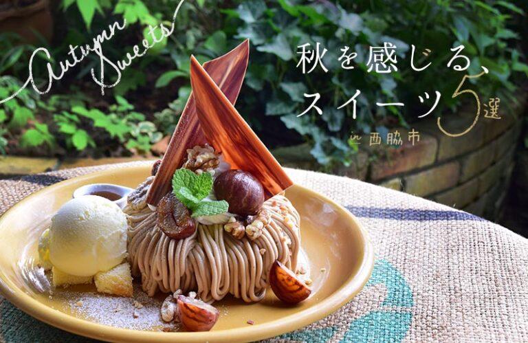 【西脇市】秋限定のスイーツ5選!パフェやパンケーキ、テイクアウトできる焼き菓子も